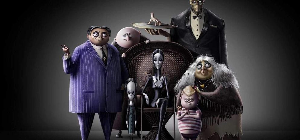 The Addams Family (2019) Cover